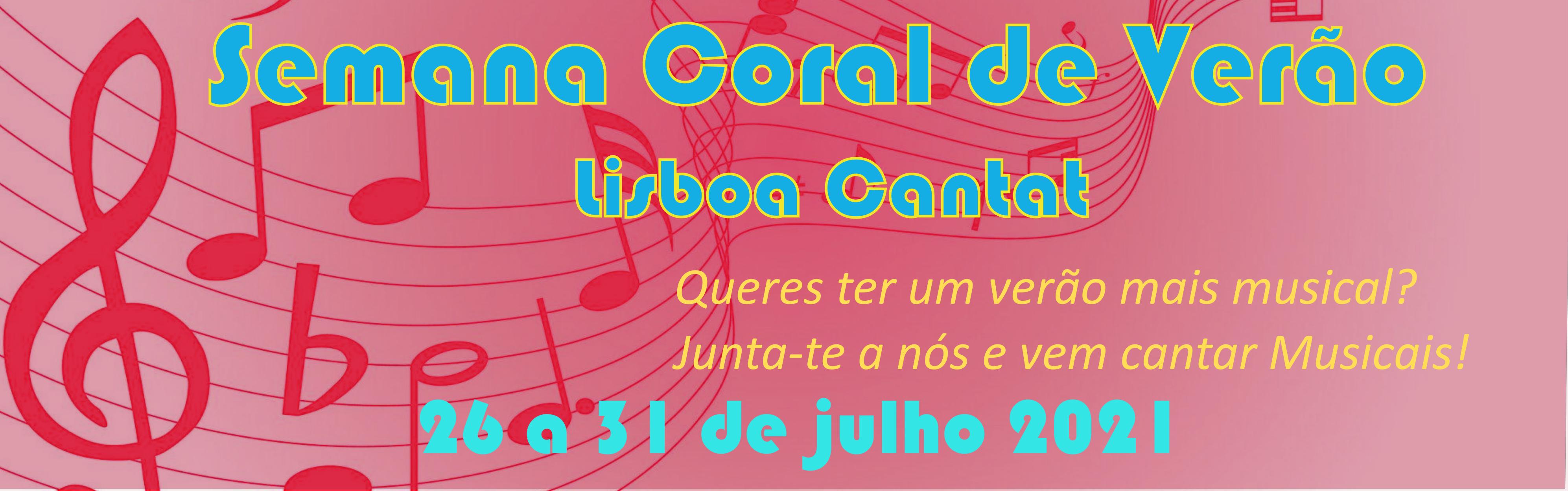 Semana Coral de Verão  Lisboa Cantat